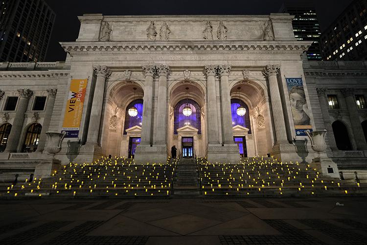 El 3 de abril fue un día de gala en la Biblioteca Pública de Nueva York, con la presentación de la colección de Montblanc para UNICEF