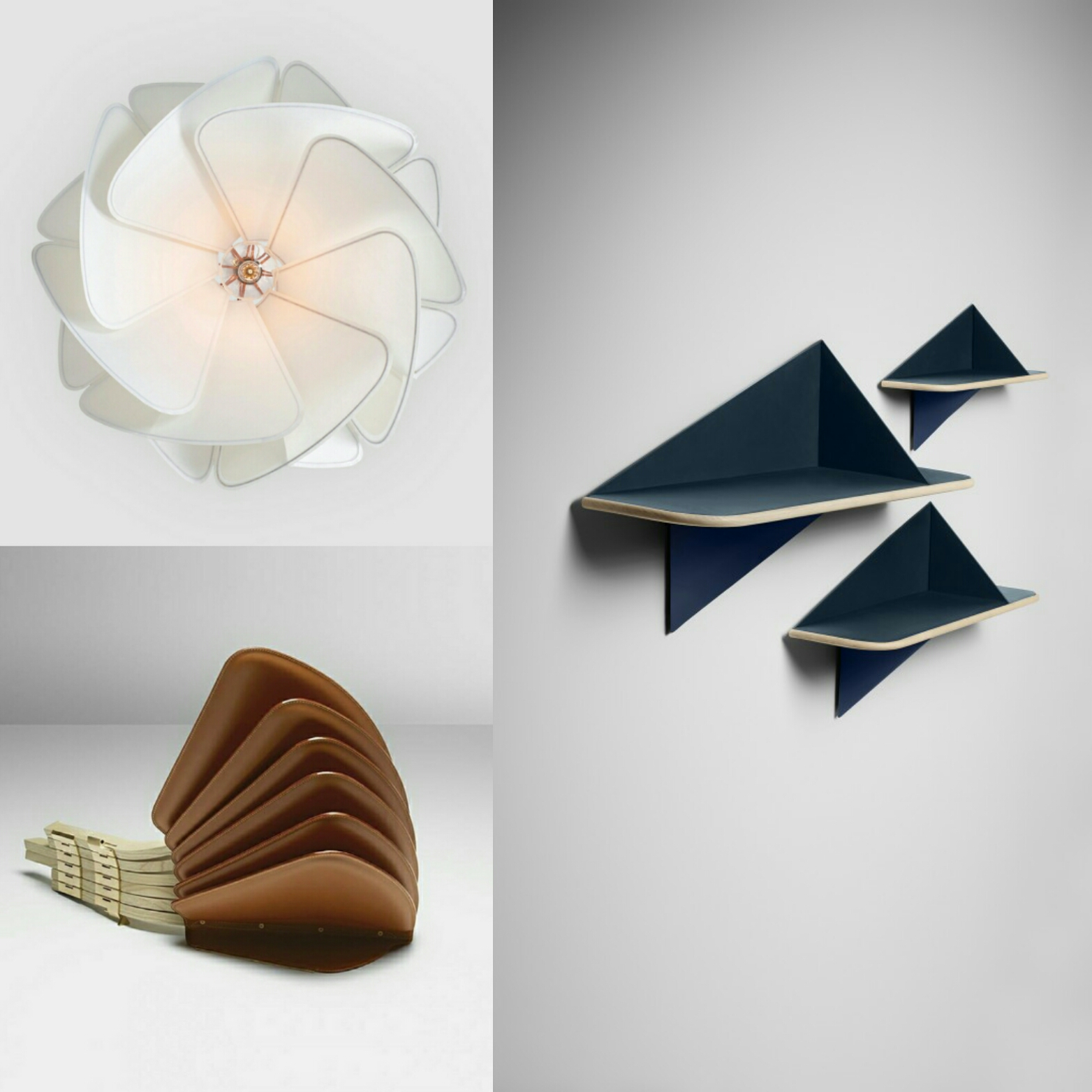 "Details of the collection ""Nomadic Objects"" designed by the Raw Edges Studio"