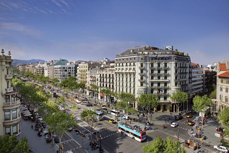 Passeig de Gràcia, el escenario principal de BWE