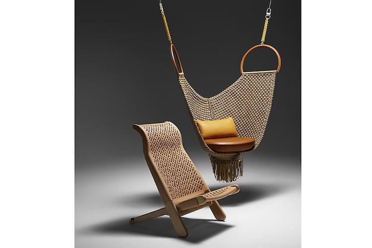 """Diseño de Patricia Urquiola para la colección """"Objetos Nómada"""" de Louis Vuitton"""