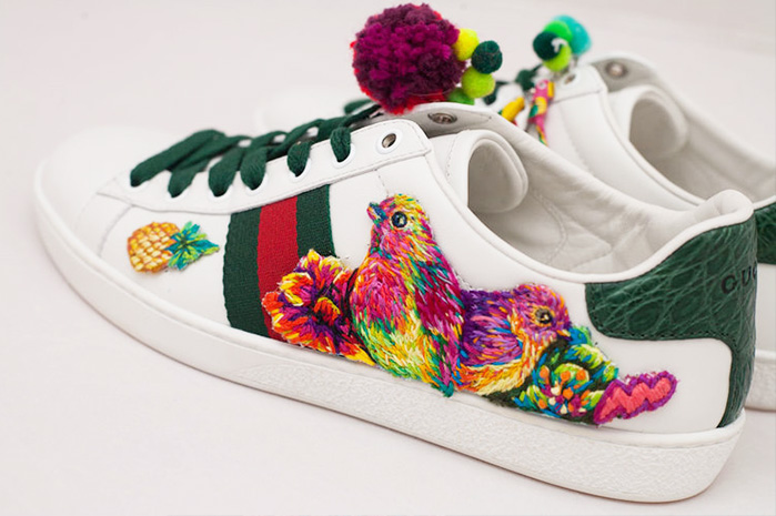 Collaboration with Gucci