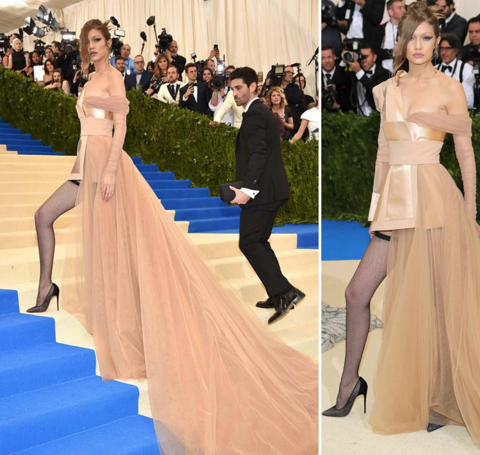 Tommy Hilfiger viste a la modelo Gigi Hadid actual imágen de la marca