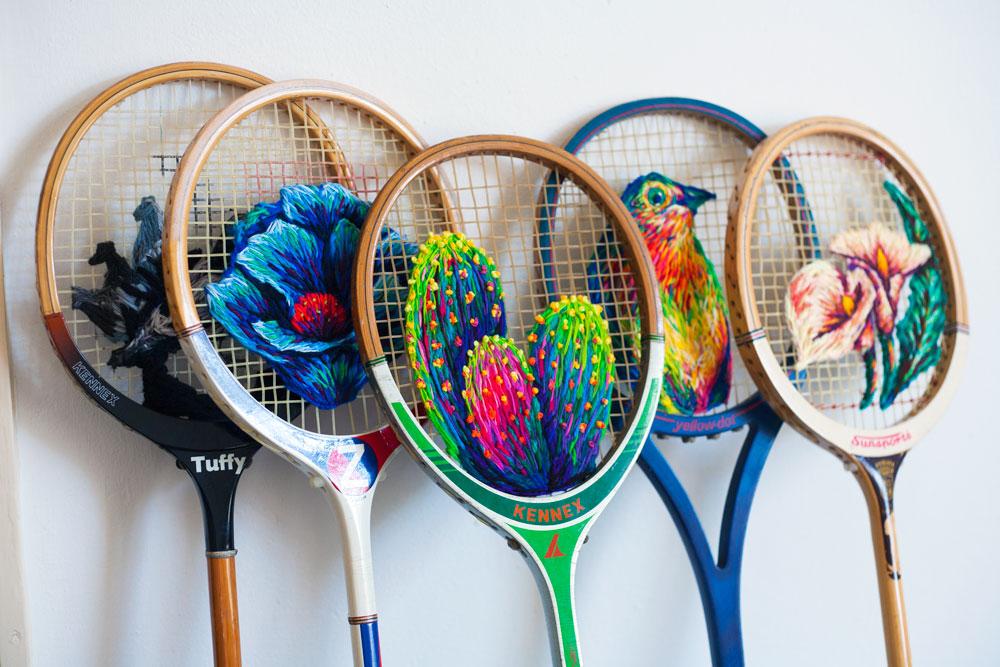 Racket line up