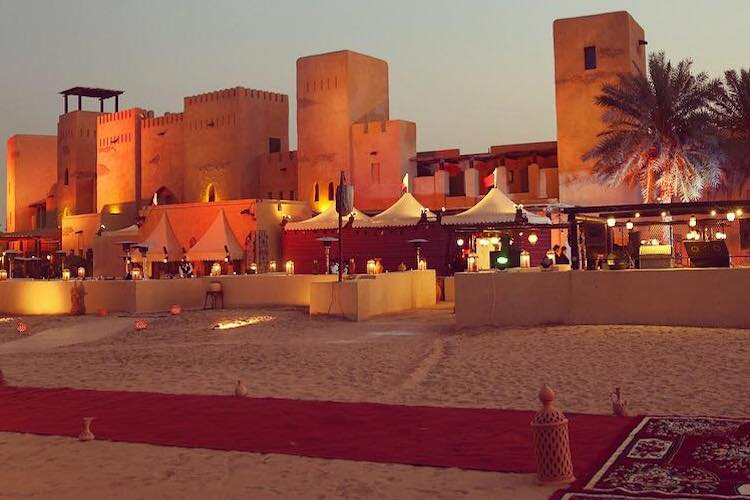 Ebano and Mirra were launched in a desert landscape of Dubai.