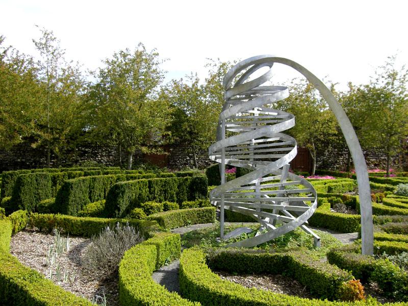 Espiral que evoca el ADN