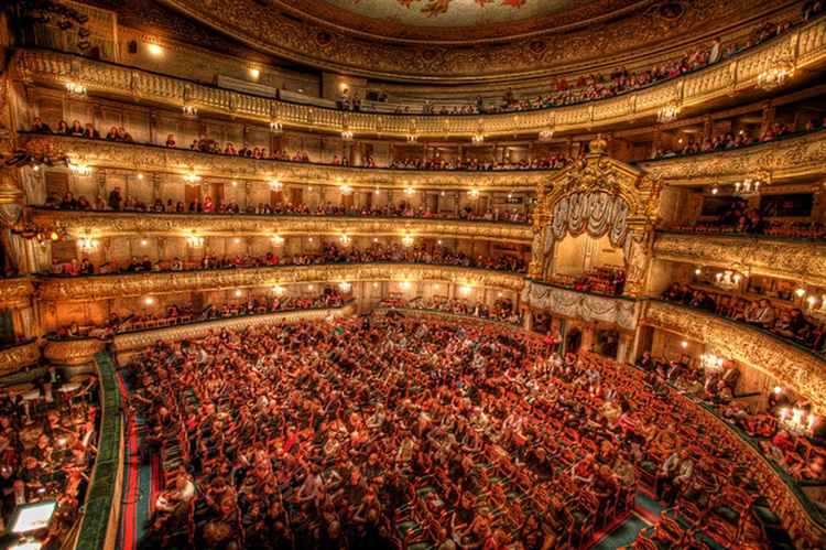El interior del Mariinsky rebosará expectación para las noches de estreno
