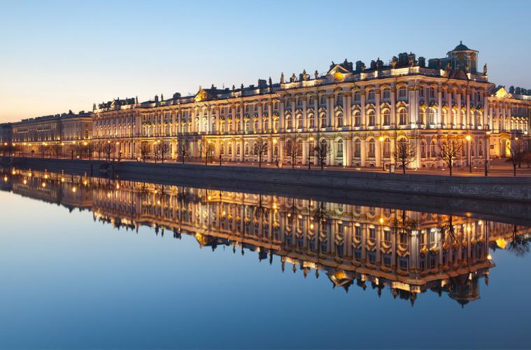 Saint Petersburg in summer