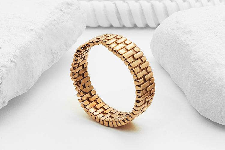"Ring ""Brick arch"" by Artur Dabrowski"