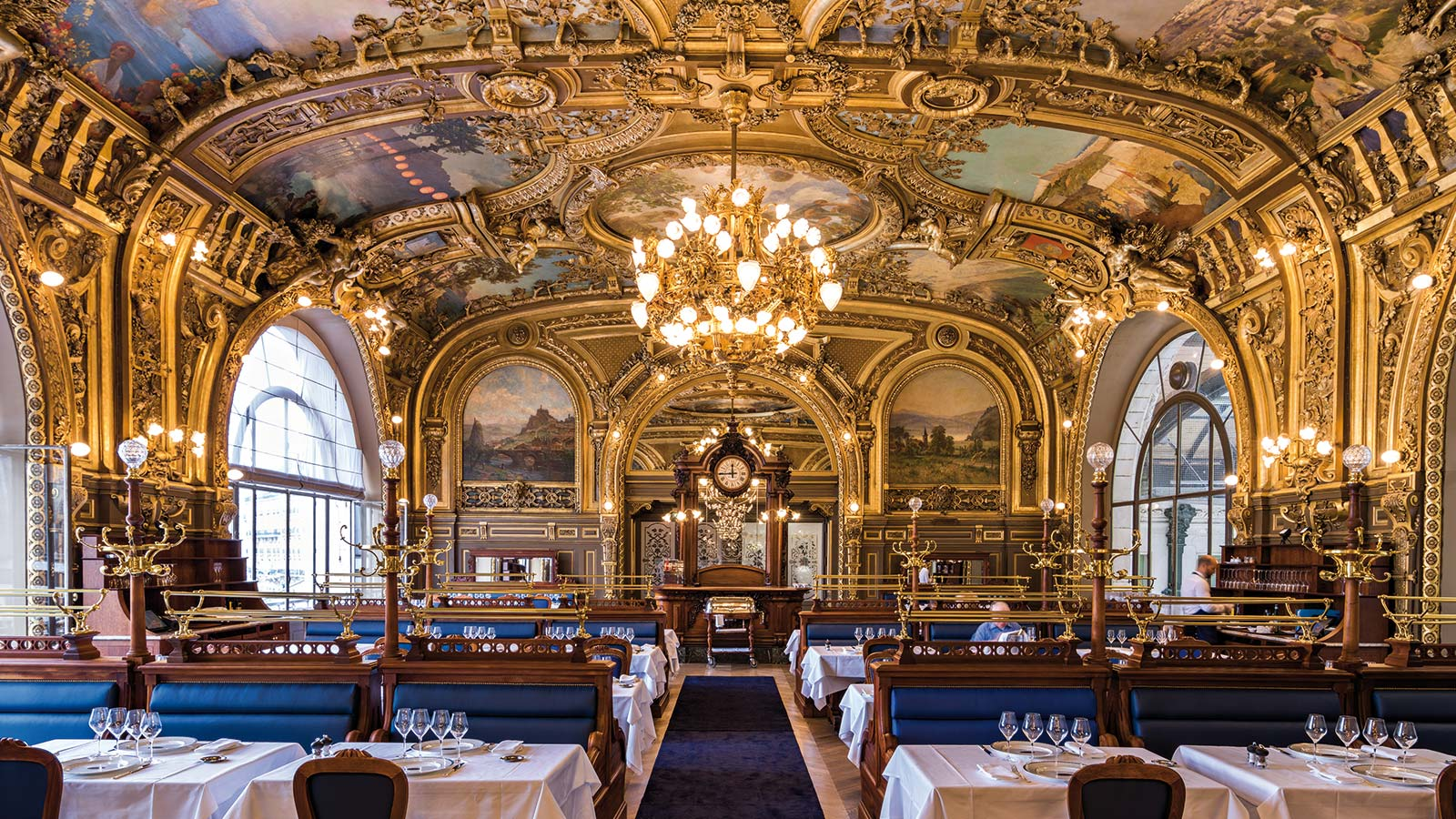 Comedor de Le Train Bleu