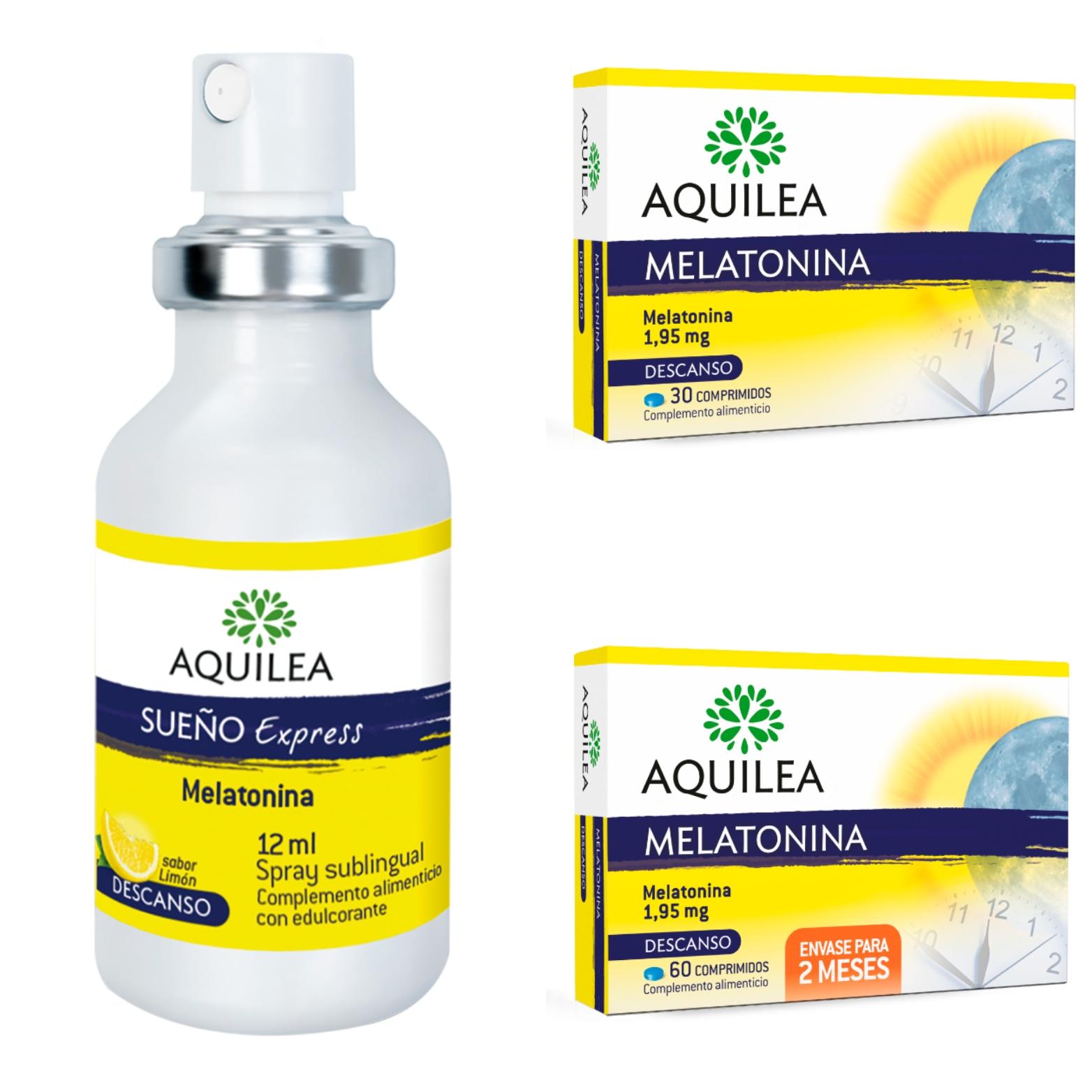 Complemento alimenticio con melatonina, de Aquilea