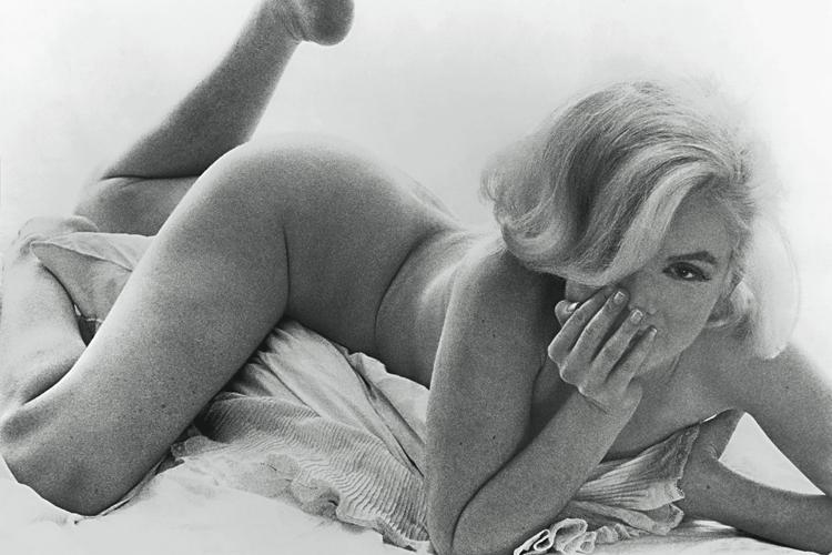 Una de las últimas fotos de Marilyn realizada por Bert Stern