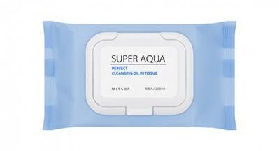 Missha-super-aqua-perfect-cleansing-oil-in-tissue