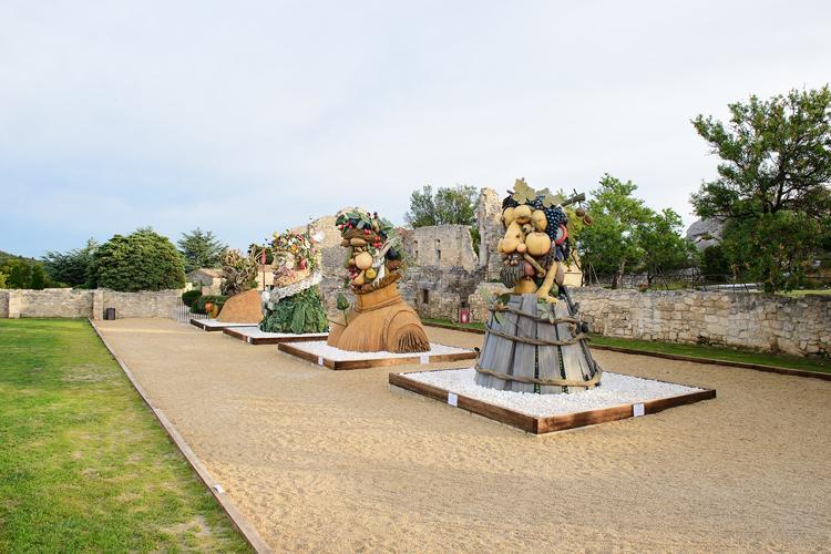Los Gigantes de Arcimboldo, obra de Philip Haas