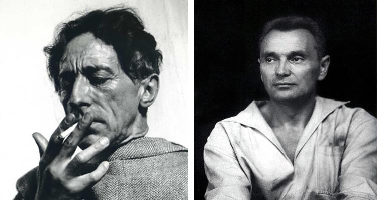 Jean Cocteau y Joseph Svoboda, pioneros en el uso de estas canteras como espacio creativo