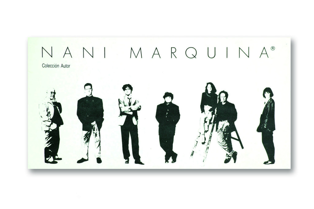 Por Nani Marquina han desfilado diseñadores, interioristas y artistas plásticos de diversas procedencias y tendencias.