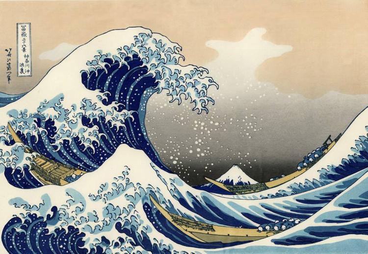 Hokusai's Great Wave