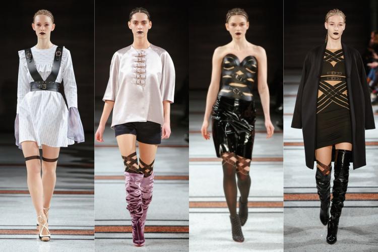 Marina Hoermanseder's fashion show