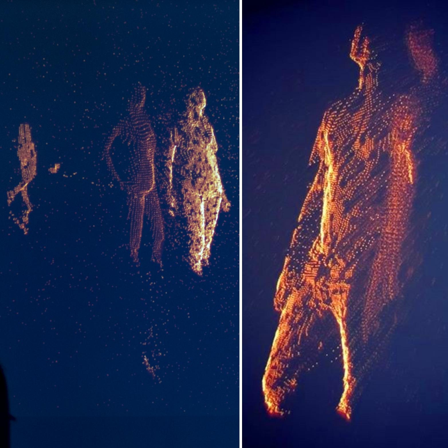 Moving Pixel es la obra creada por Bonjour Lab