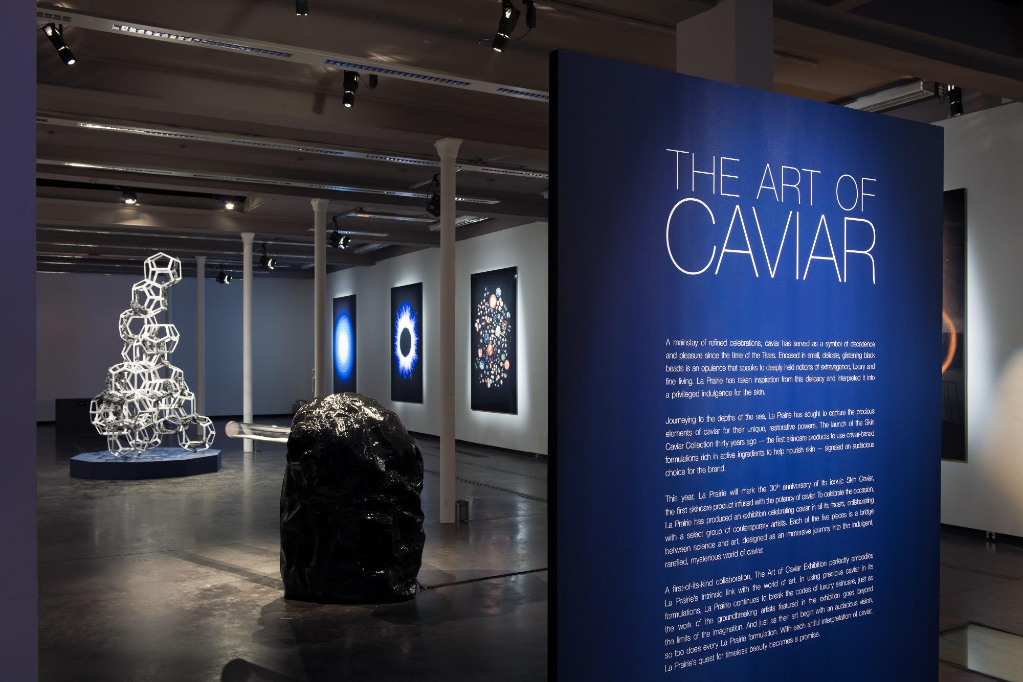the art of caviar-exhibition-La Prairie