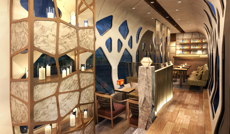 Contemporary design is the rule in the Shiki-Shima