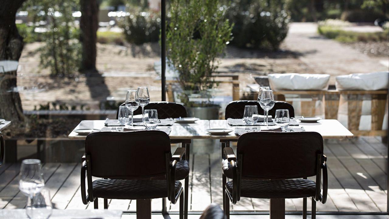 Restaurante sublime comporta