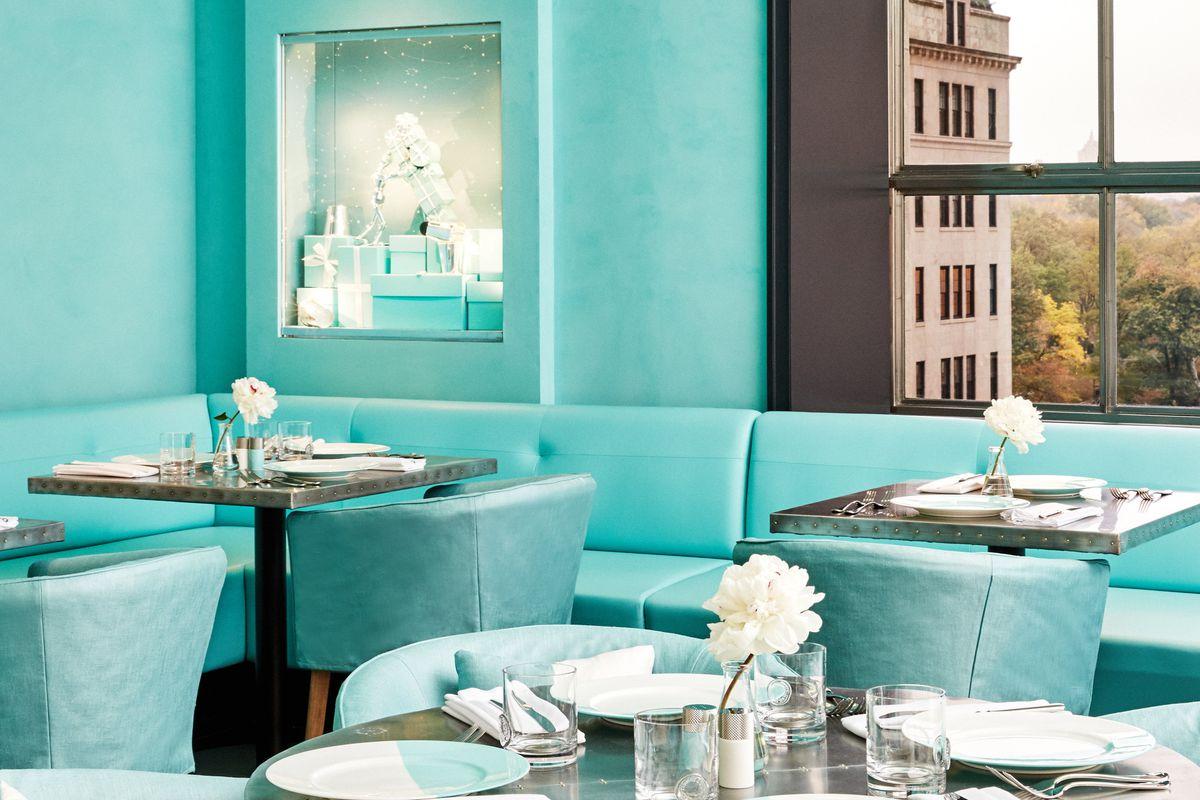 Blue Box Café de Tiffany