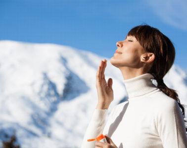 proteccion solar en la nieve para evitar las manchas en la piel