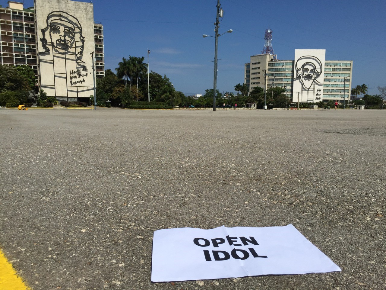 "Word Portrait de Cuba ""Open Idol"""