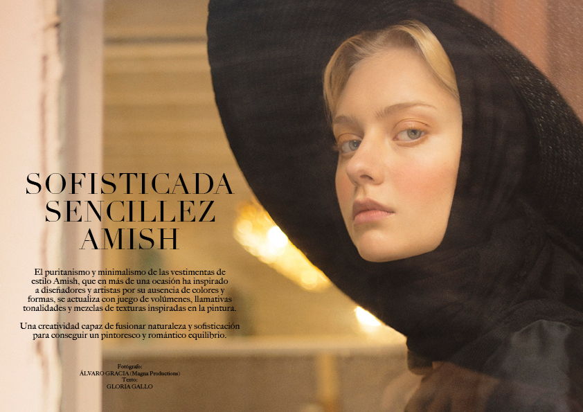magazine horse fashion editorial