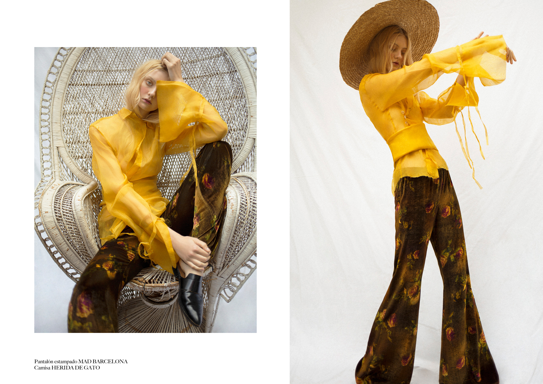magazine horse fashion editorial