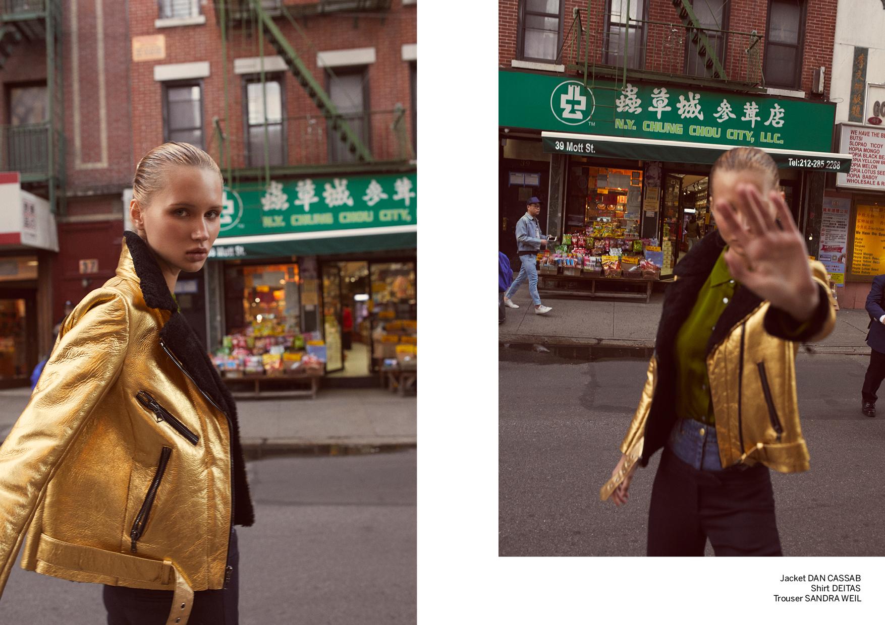 editorial de moda magazine horse