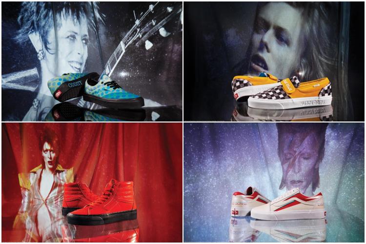 colección Bowie de Vans