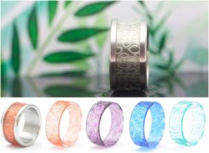 anillo personalizable