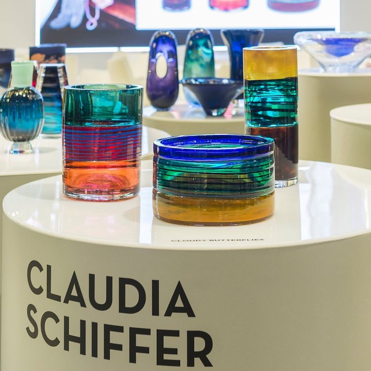 Claudia Schiffer para Vista Alegre