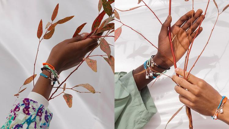 Pulseras Silver Lockit, Louis Vuitton para Unicef