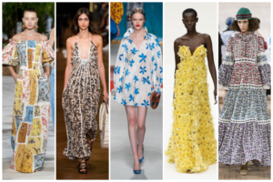 Vestidos de flores primavera-verano 2020