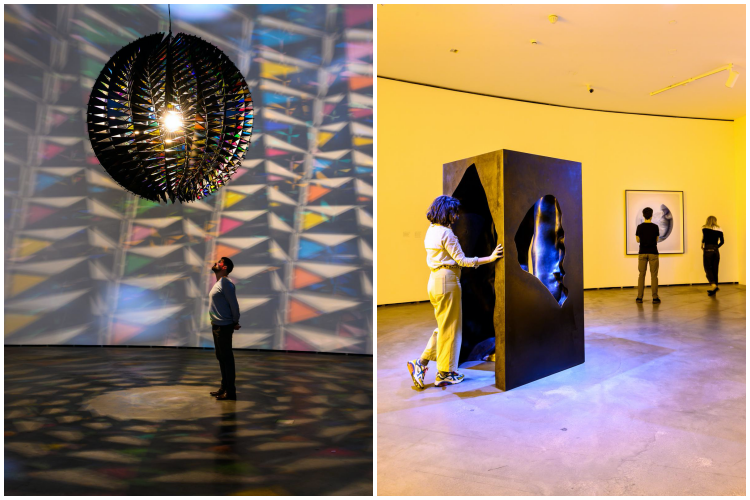 In real life (2019) - The presence of absence pavilion (2019). Museo Guggenheim, Bilbao. Olafur Eliasson