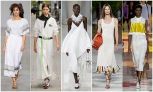 Vestidos blancos primavera-verano 2020
