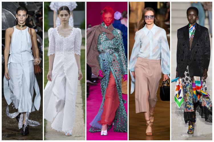 Vestidos y faldas pantalón primavera-verano 2020
