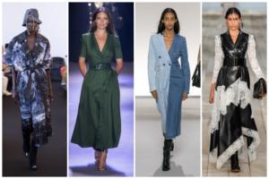 Vestidos cruzados primavera-verano 2020
