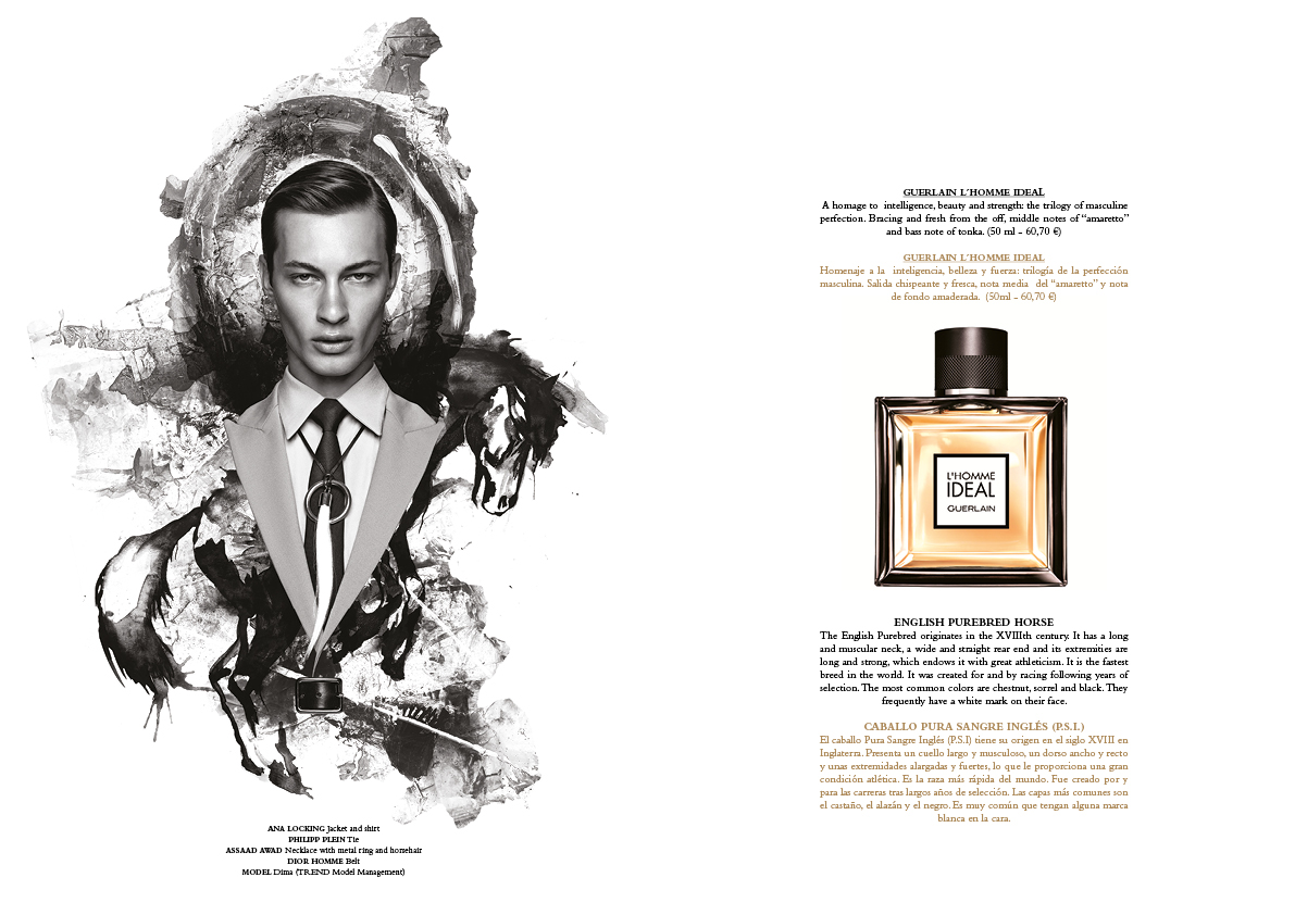 Editorial perfumes Greg Swales Horse