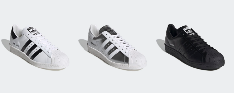 Superstar Adidas x Prada 2020