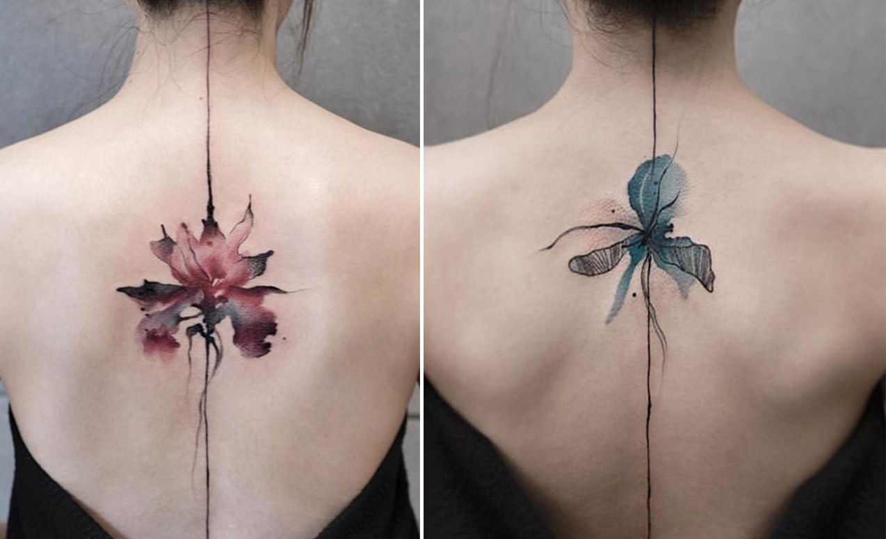 Chen-Jie-paint-tattoo-trends-watercolor-china-magazinehorse
