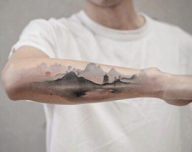 Chen-Jie-paint-tattoo-trends-watercolor-china-magazinehorse-