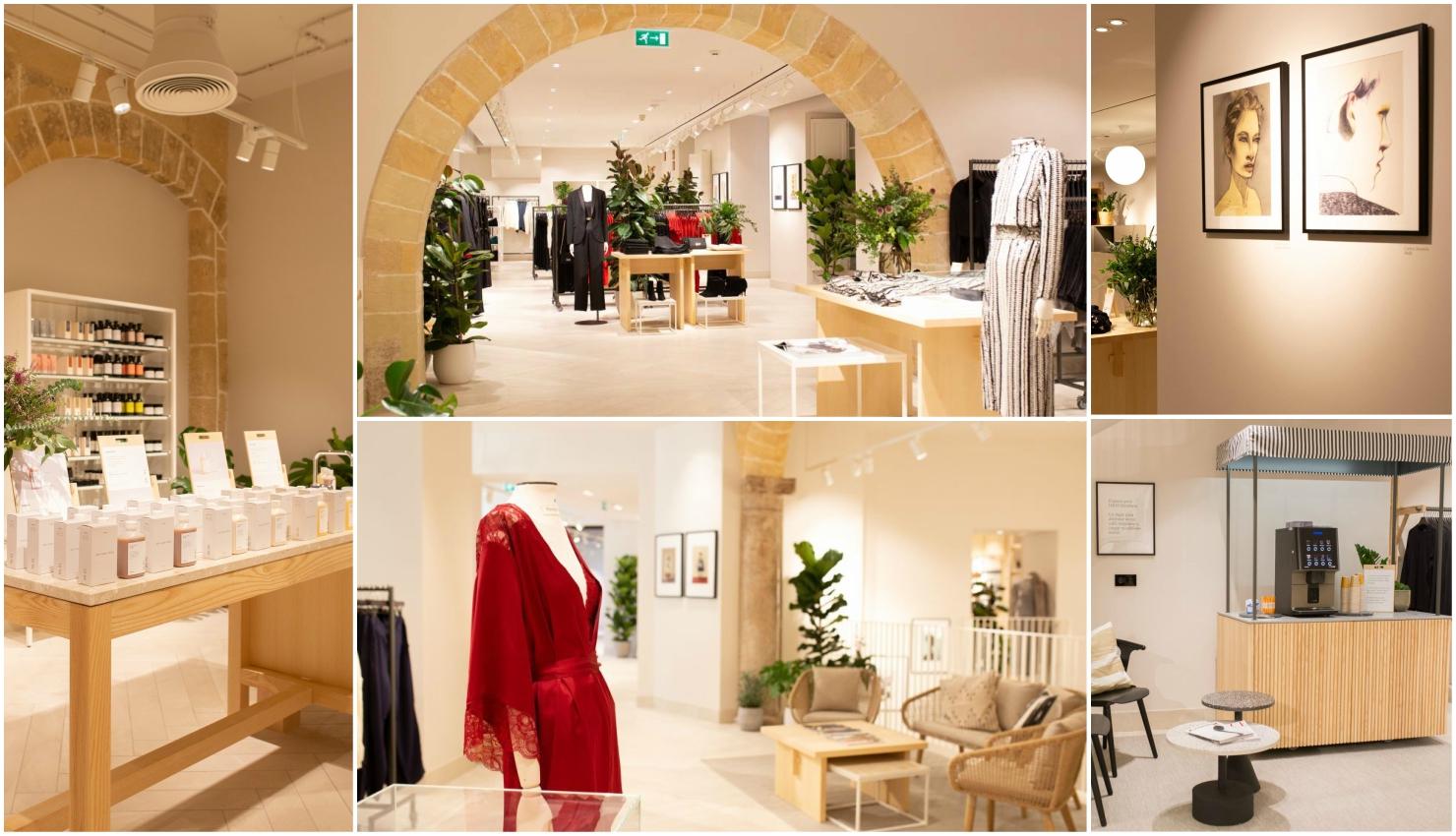 Diseño mediterráneo H&M Mallorca