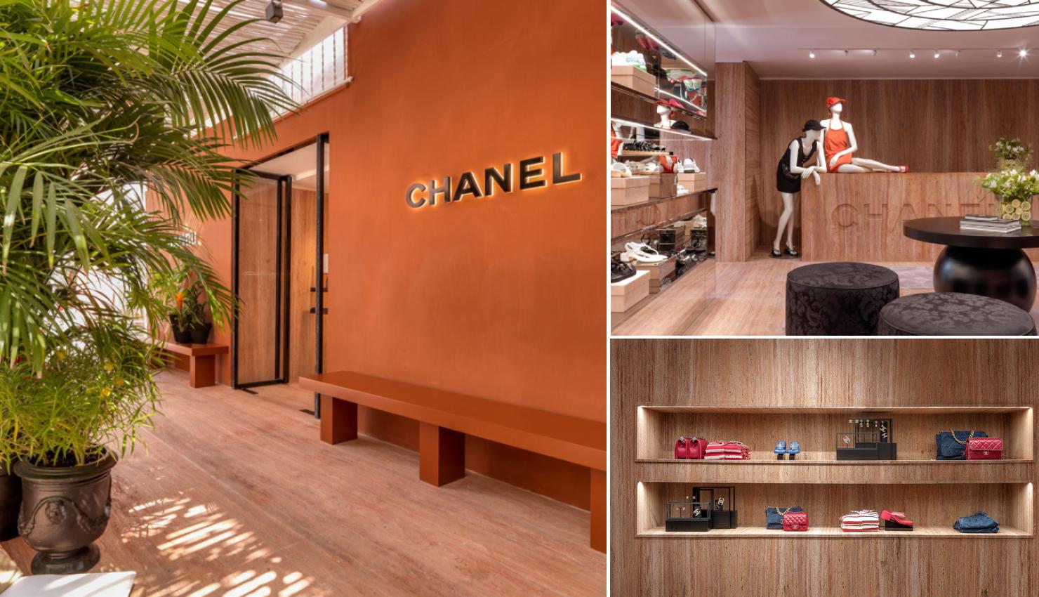 Pop-up de Chanel en Capri