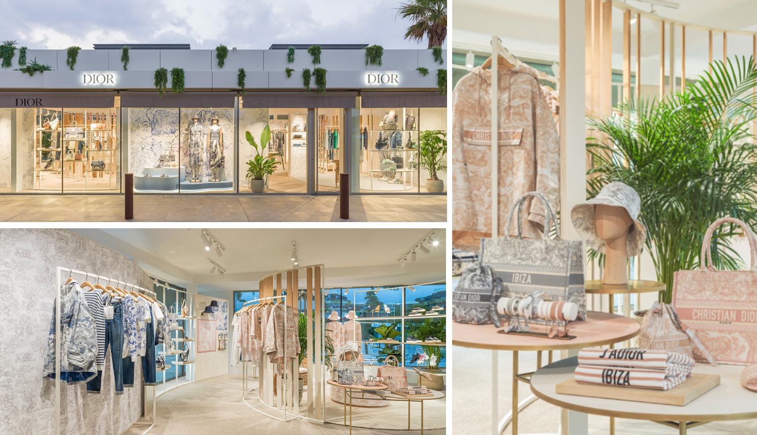 Pop-up de Dior en Ibiza