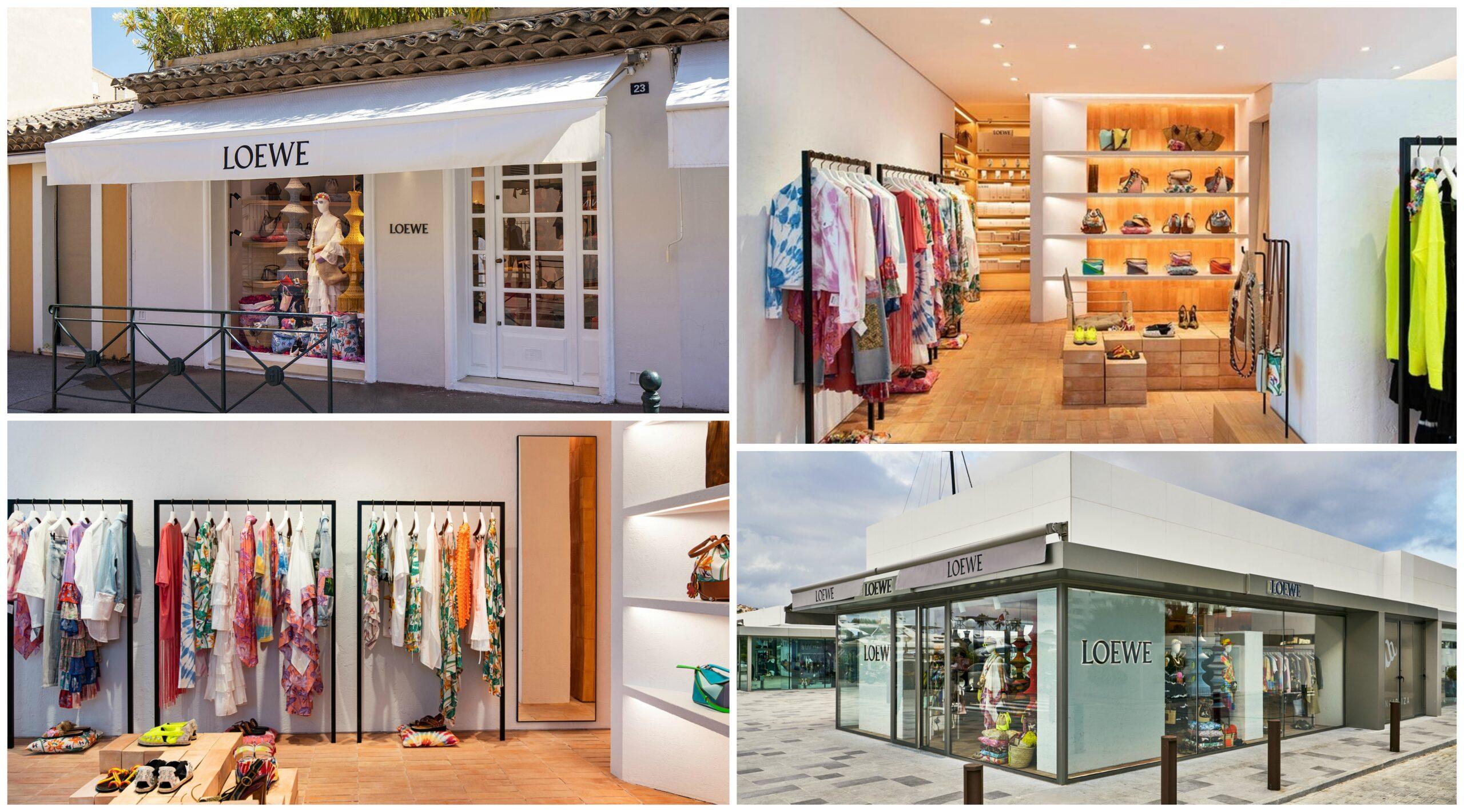 Pop-up de Loewe en Ibiza y Saint Tropez