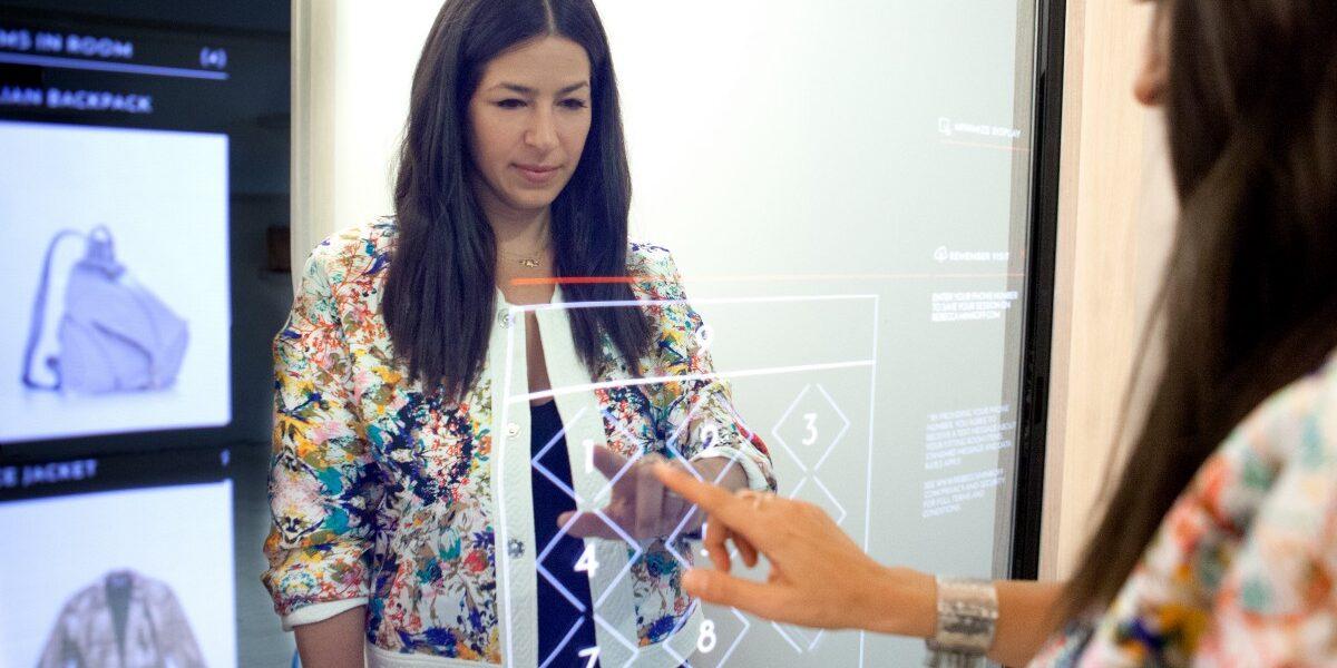 Probador inteligente con pantalla táctil