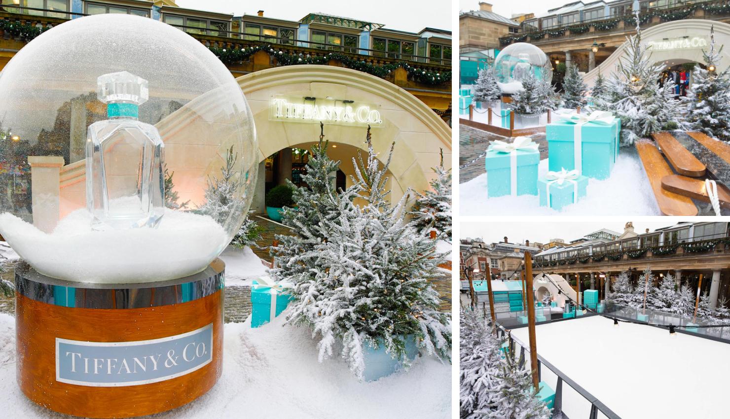 Decorado navideño marca Tiffany en Londres